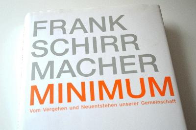 spothits.de-Buchtipp: Minimum – Vom Vergehen und Neuentstehen unserer Gemeinschaft. © spothits.de