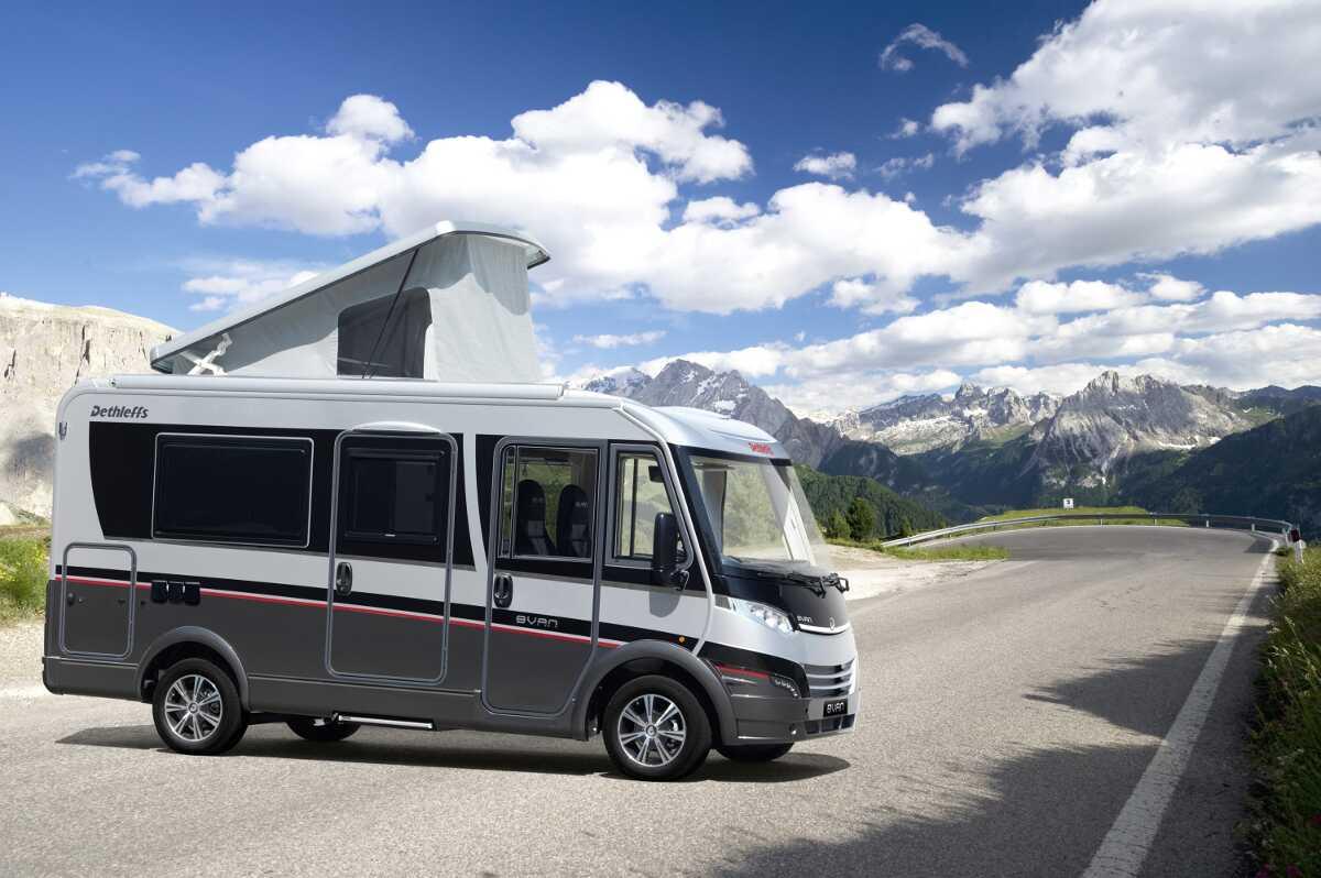 EVAN geht in Serie: Dethleffs definiert Reisemobil-Kompaktsegment neu. © spothits/dethleffs