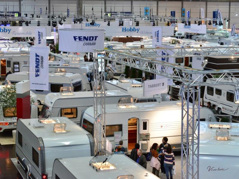 Touristik & Caravaning International Leipzig 2013: Reisemobil- und Tourismus-Messe ist gestartet. © spothits/hendrik meyer