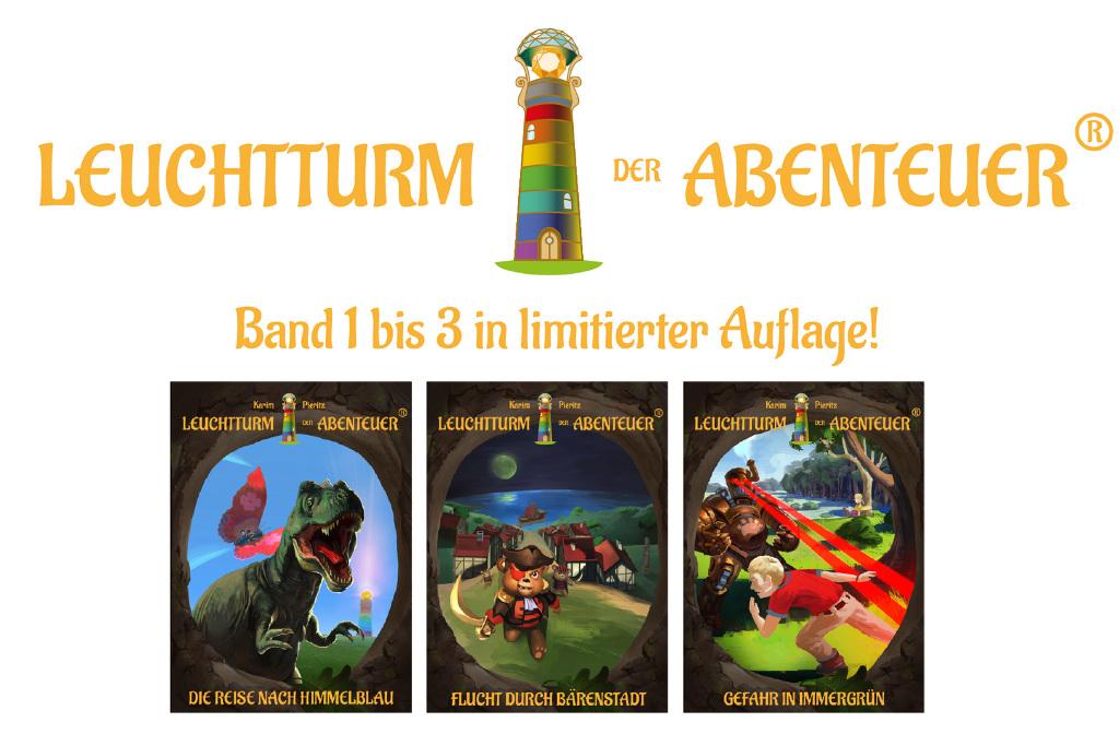 spothits-Gespräch: Karim Pieritz, Selfpublisher, Verleger und Autor der Kinderbuchreihe »Leuchtturm der Abenteuer«. © spothits