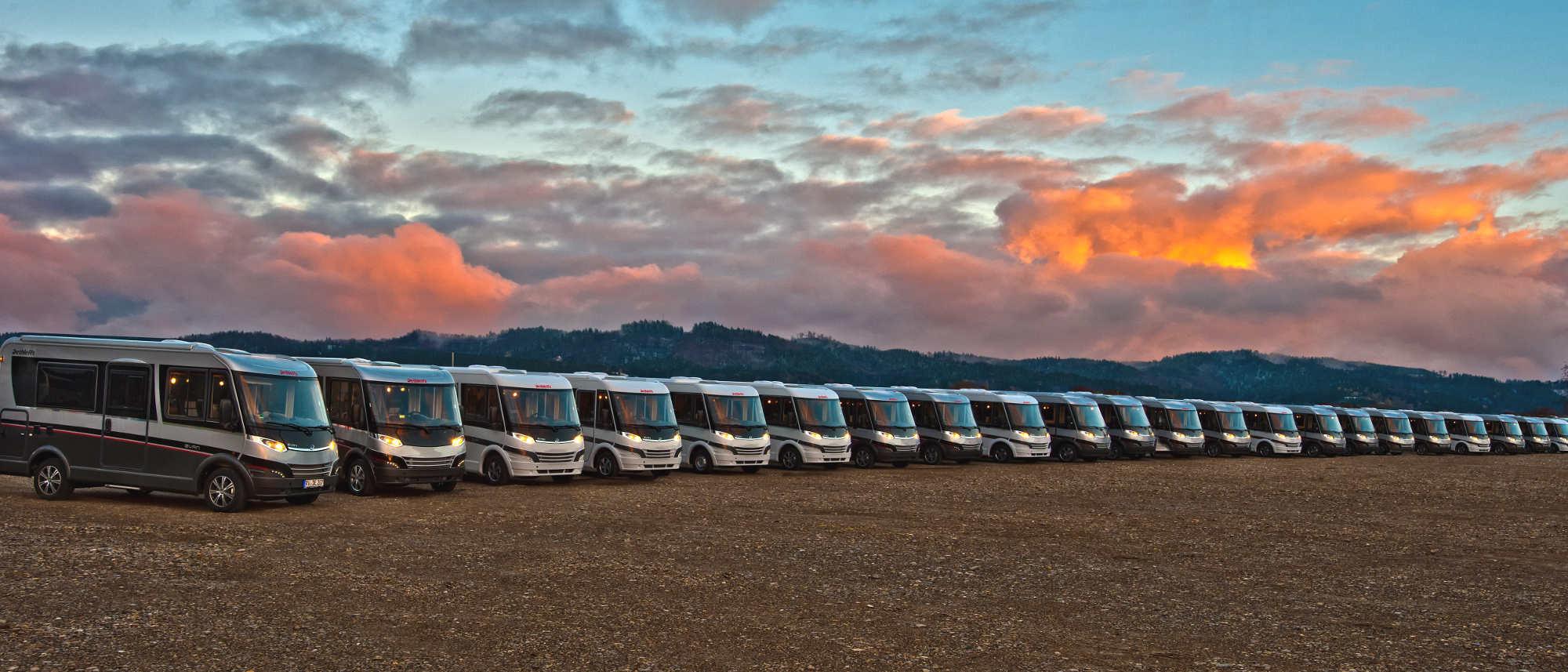 Dethleffs evan: Die ersten 50 Fahrzeuge werden geliefert. © spothits/dethleffs