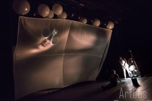 Bruno Latour: Gaïa Global Circus Une Tragi-Comédie Climatique Foto: Luigi Cerri und Matthieu Protin © spothits/ZKM | Karlsruhe 2014