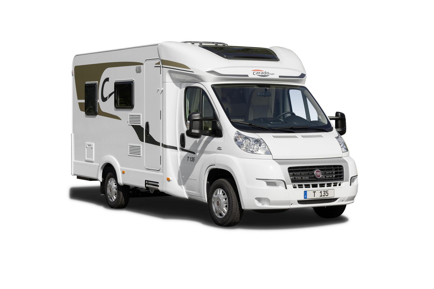 Carado mit neuen Modellen: Reisemobil T 132 und Einstiegs-Caravan Delight. © spothits/Carado