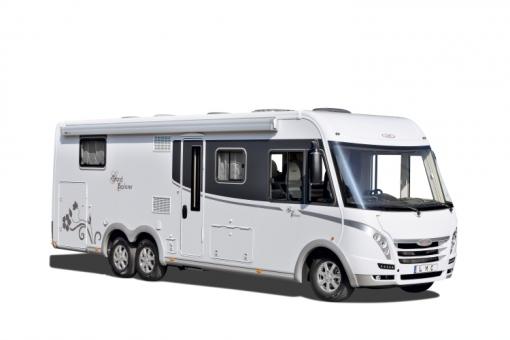 CMT Stuttgart 2014: LMC zeigt Caravan-Baureihen Style und Vivo sowie Integrierten Grand Explorer. © spothits/LMC