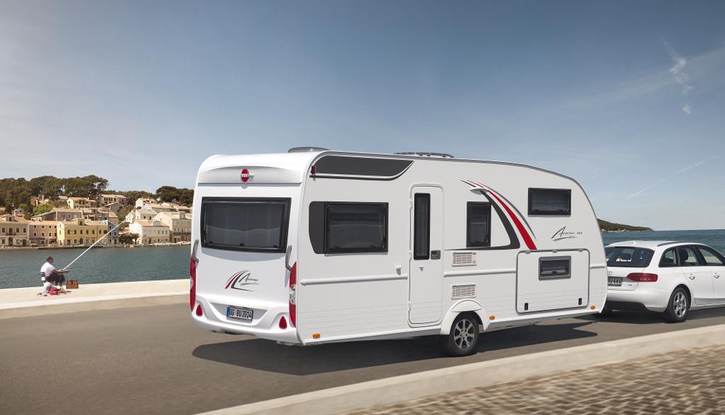 CMT stuttgart 2014: Bürstner liefert mehr Ausstattung und neue Ausstattungslinie für Top-Modelle. © spothits/Bürstner
