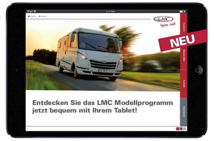 LMC App informiert über Modelle und technische Daten. © spothits/LMC