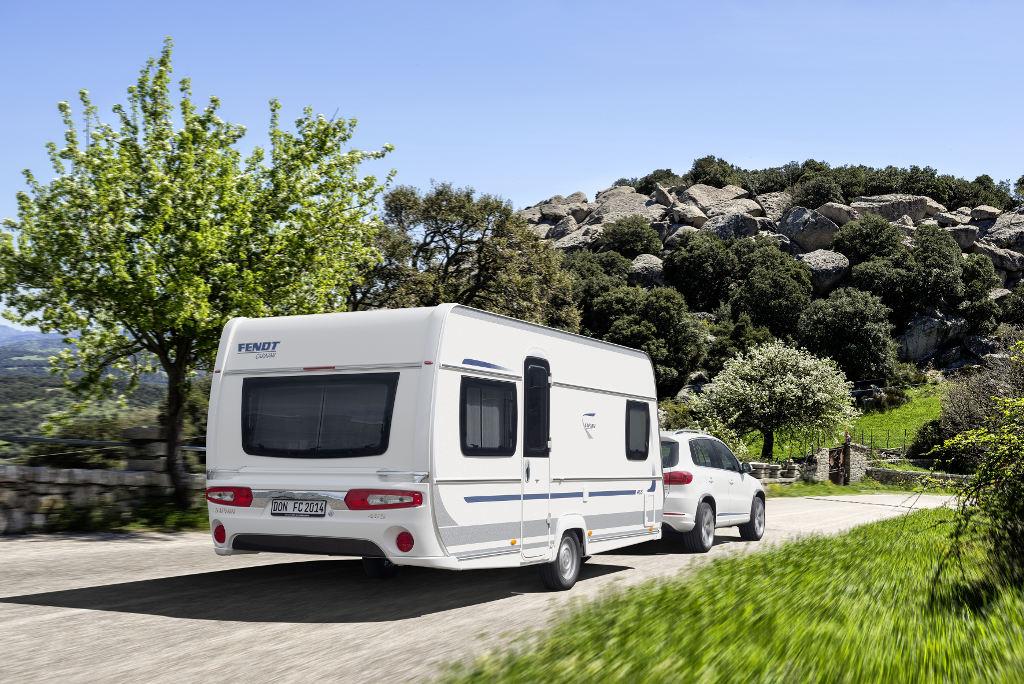 CMT Stuttgart 2014: Fendt räumt mit Caravan-Baureihen Preise bei Leserwahl ab. © spothits/Fendt