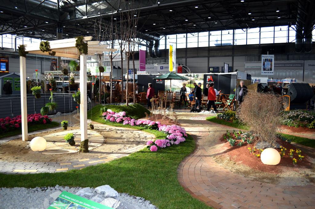 Messe Leipzig: Haus-Garten-Freizeit und mitteldeutsche handwersmesse schließen erfolgreich. © spothits/Katharina Geißler