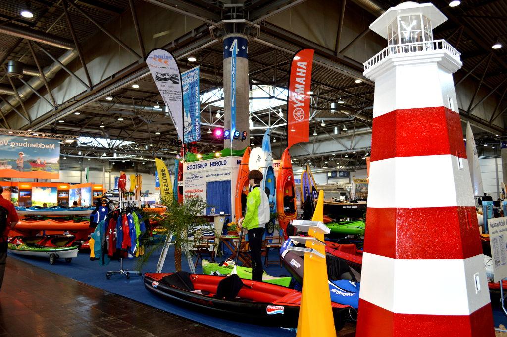Beach & Boat Leipzig 2014: Wassersportmesse ist gestartet. © spothits/Katharina Geißler