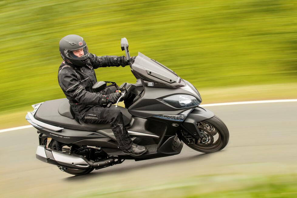 Kymco Xciting 400i ABS: Neuer Großroller zum Deutschlandjubiläum. © spothits/Kymco