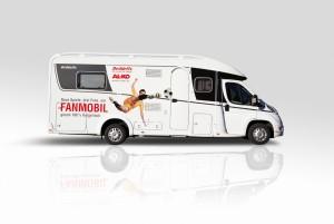 Reise & Camping Essen 2014: Dethleffs und AL-KO bieten Einbauworkshop im Fanmobil. © spothits/dethleffs
