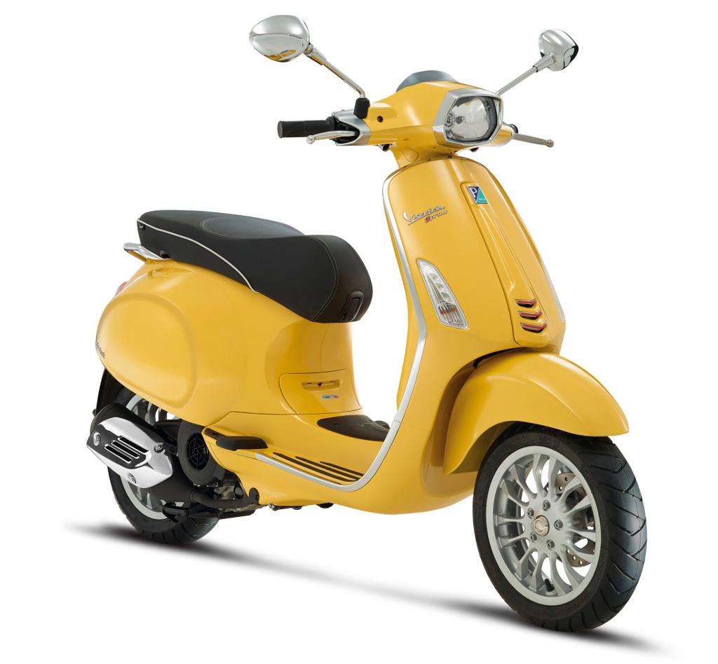 Vespa Sprint – Erste Bilder des neuen italienischen Scooters von Piaggio. © spothits/Piaggio