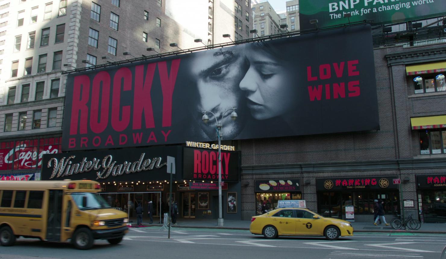 Glanzvolle Broadway Premiere für ROCKY Das Musical. © spothits/mhoch4tv