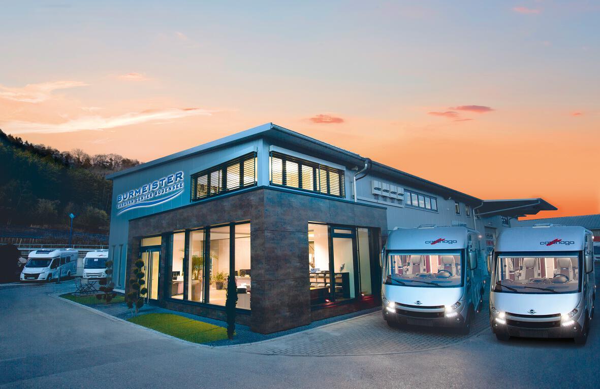 Caravan Center Burmeister am Bodensee feiert 25-jähriges Firmenjubiläum. © spothits/Intercaravaning