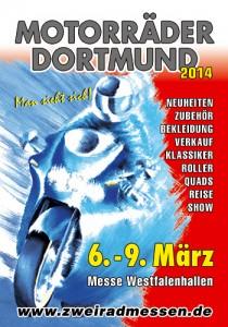 Motorräder Dortmund 2014: Die Saison ist eröffnet. © spothits/zweiradmessen.de