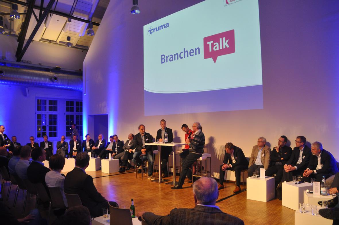 Intercaravaning Branchentalk, Gaszählerwerkstatt in München. © spothits/Intercaravaning