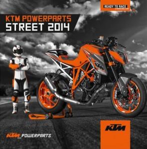 KTM kündigt neuen PowerParts Street-Katalog 2014 an. © spothits/KTM