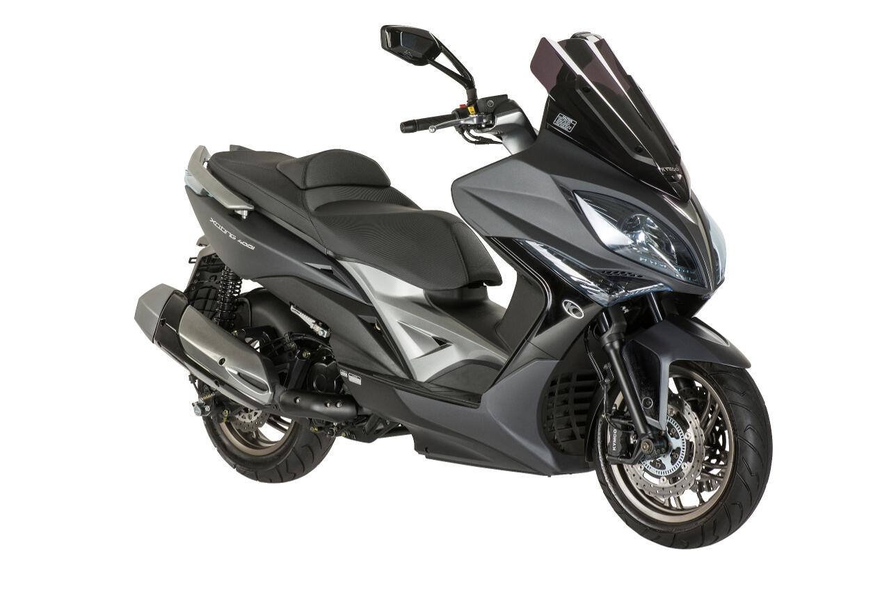 Jubiläumsmodell Kymco Xciting 400i ABS. © spothits/Kymco