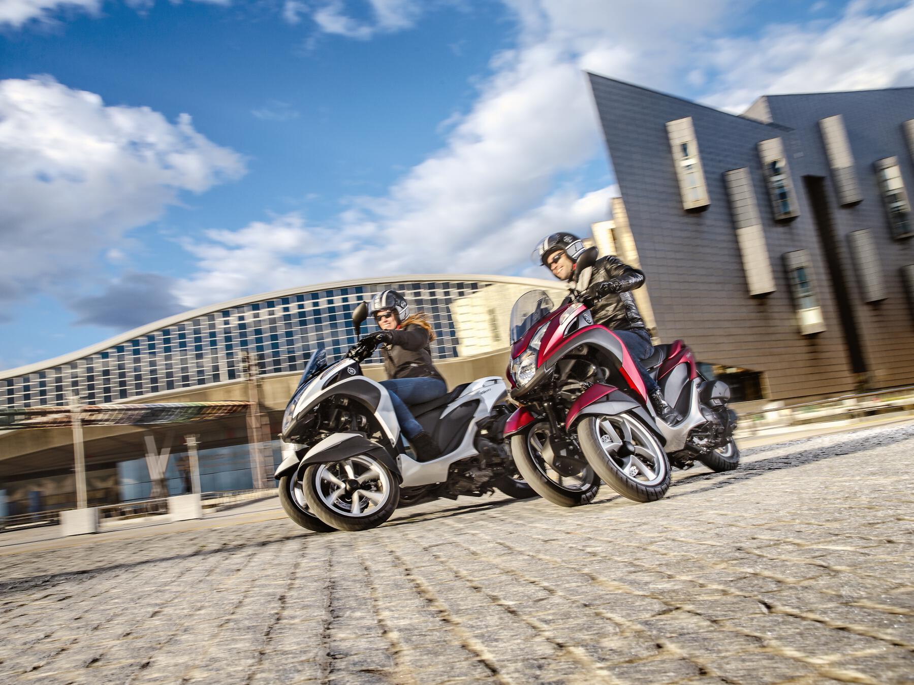 Yamaha Tricity: Das Dreirad für Pendler. © spothits/Yamaha