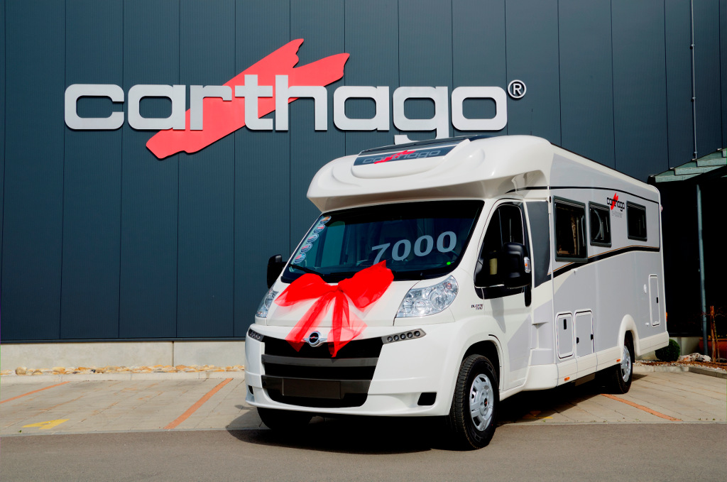 Carthago hat 7.000 Reisemobile in Slowenien gefertigt. © spothits/Carthago