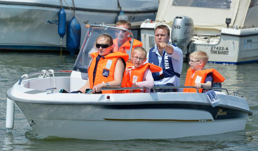 Boote testen bei Wassersportevents des Bundesverbandes Wassersportwirtschaft. © spothits/Bundesverbandes Wassersportwirtschaft