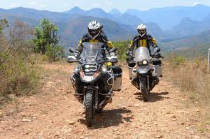 Touratech Travel-Event 2014: Motorräder testen und Touren planen. © spothits/Touratech