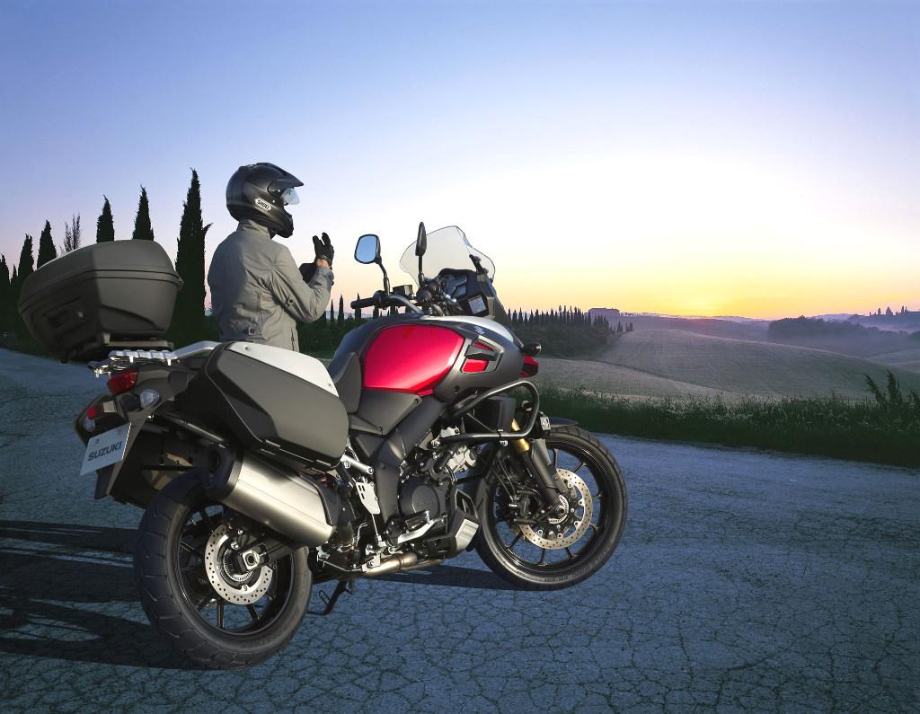 Suzuki schickt V-Storm 1000 auf Test-Tour durch Deutschland. © spothits/Suzuki