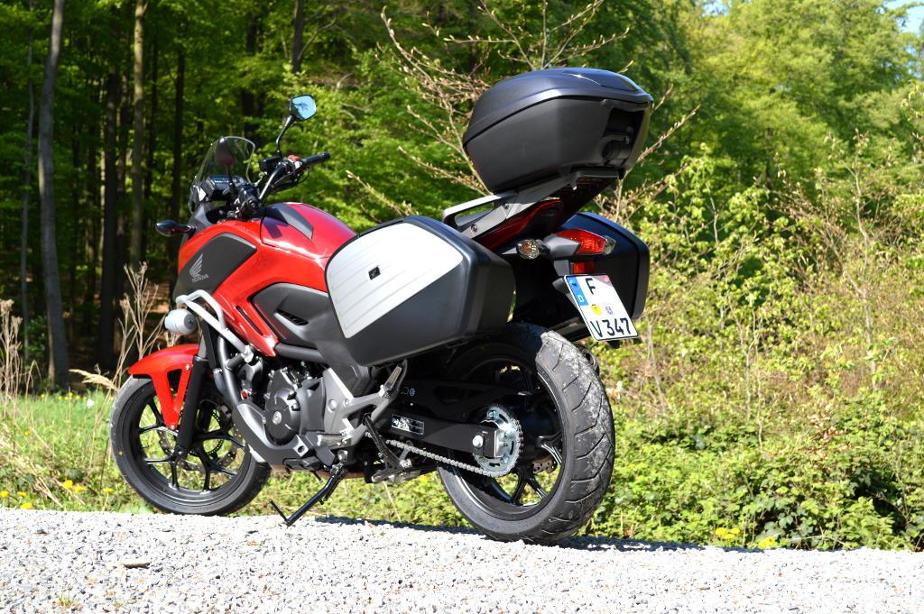 Test Honda NC750X: Durchzugsstark, sparsam und leicht im Handling. © spothits