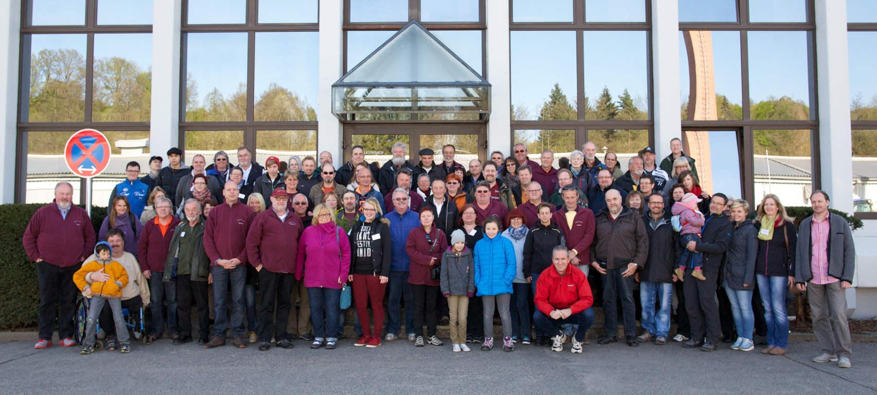 Tabbert-Camper-Forum besuchte Tabbert-Werk in Mottgers. © spothits/Tabbert