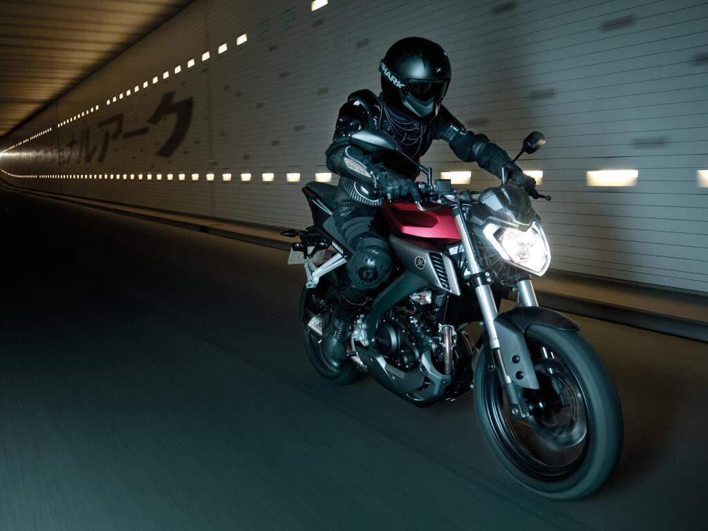 Yamaha MT-125: Ganz wie die Großen. © spothits/Yamaha