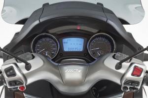 Piaggio MP3 500 i.e. jetzt mit Antiblockiersystem ABS und Traktionskontrolle ASR. © spothits/Piaggio