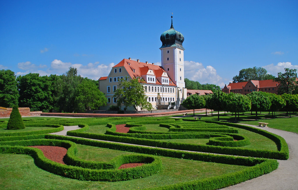 Barockschloss. © spothits/SV Delitzsch