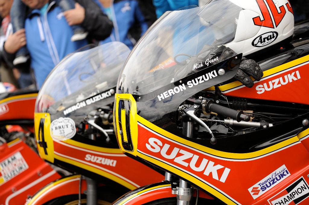 Bikers' Classics: Suzuki feiert 40 Jahre RG500 mit Fan-Spezialpaket. © spothits/Suzuki