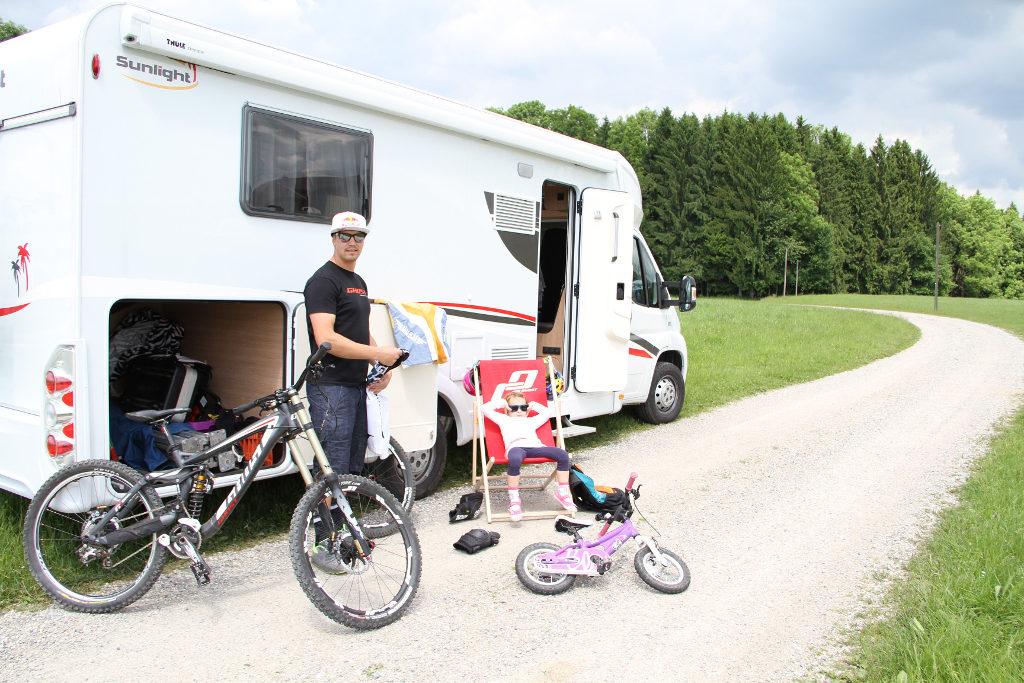 Sunlight T 69 ist Tourbus des Mountainbike-Profis Guido Tschugg. © spothits/Sunlight