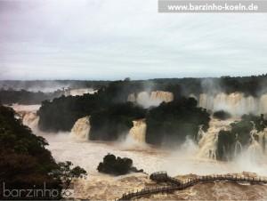 Iguassu Wasserfälle. © spothits/barzinho