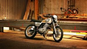Yamaha SR400 Bender. © spothits/Yamaha