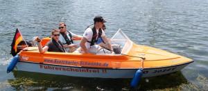 Motorboote bis 15-PS sind führerscheinfrei. © spothits BVWW e.V.