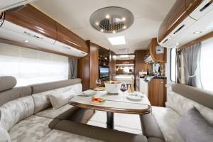 Fendt Brillant 650 TF | Fendt überarbeitet Caravan-Modelle für Saison 2015. © spothits/Fendt