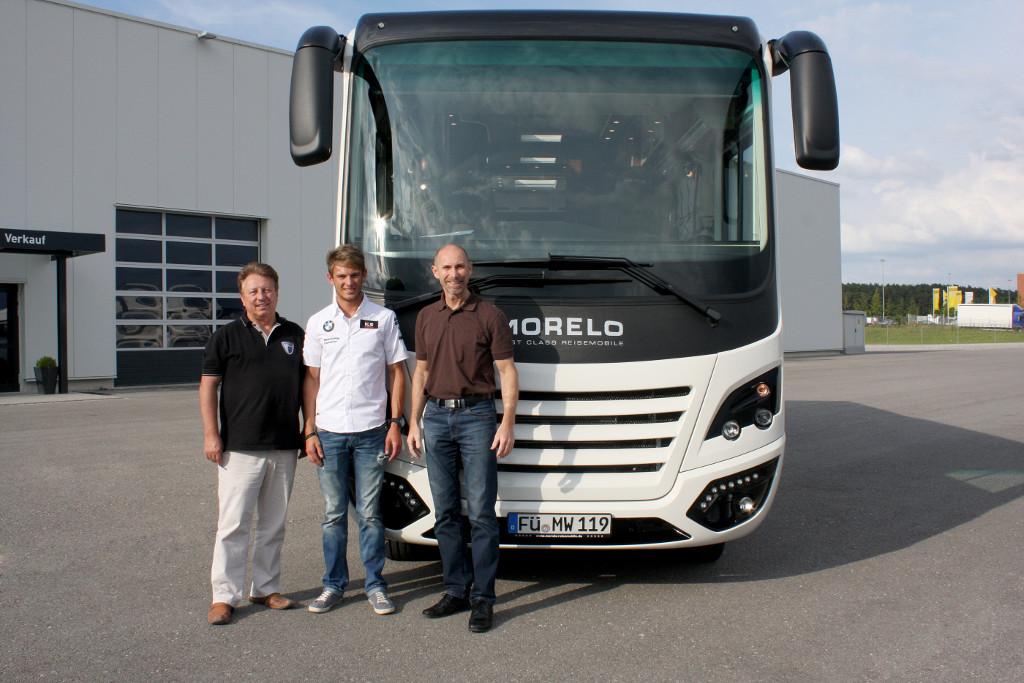 Morelo Palace 93 MB für DTM-Fahrer Marco Wittmann. © spothits/Morelo