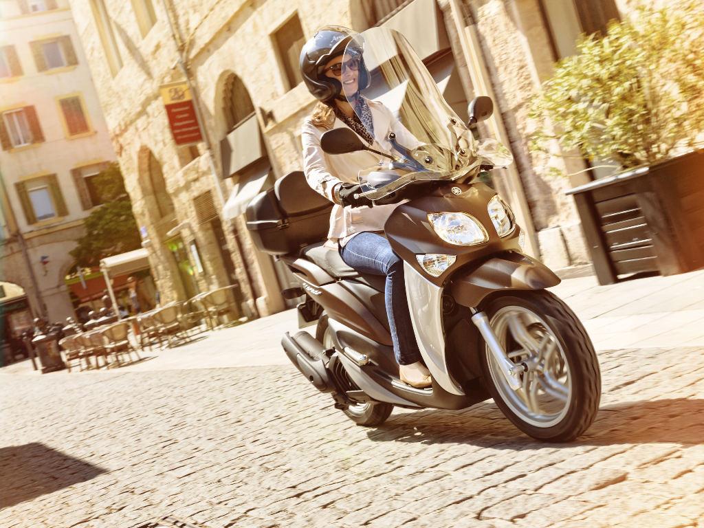 Yamaha Xenter: Modellgepflegt ins neue Jahr. © spothits/Yamaha