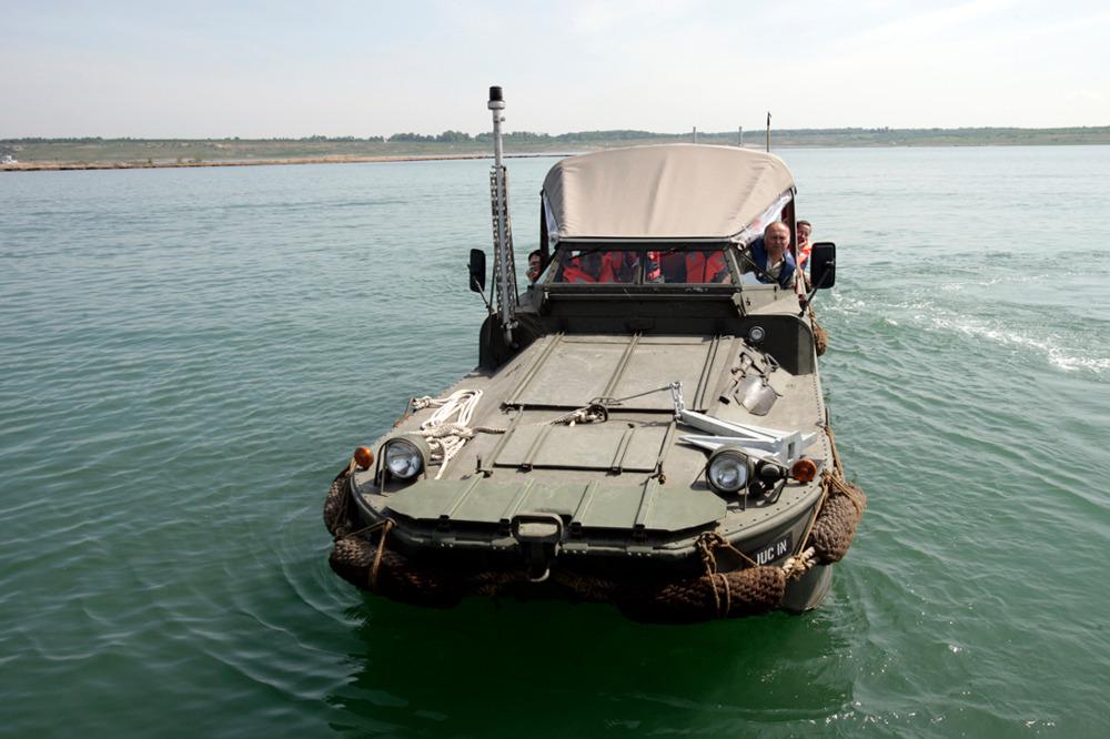 Amphibienfahrzeug DUKW 353. © spothits/Tom Schulze