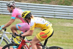 Bürstner-Radstportteam: Podestplätzen bei German Cycling Cup auf Nürburgring. © spothits/Bürstner
