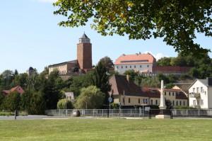Blick auf den Burgberg. © spothits/SV Eilenburg