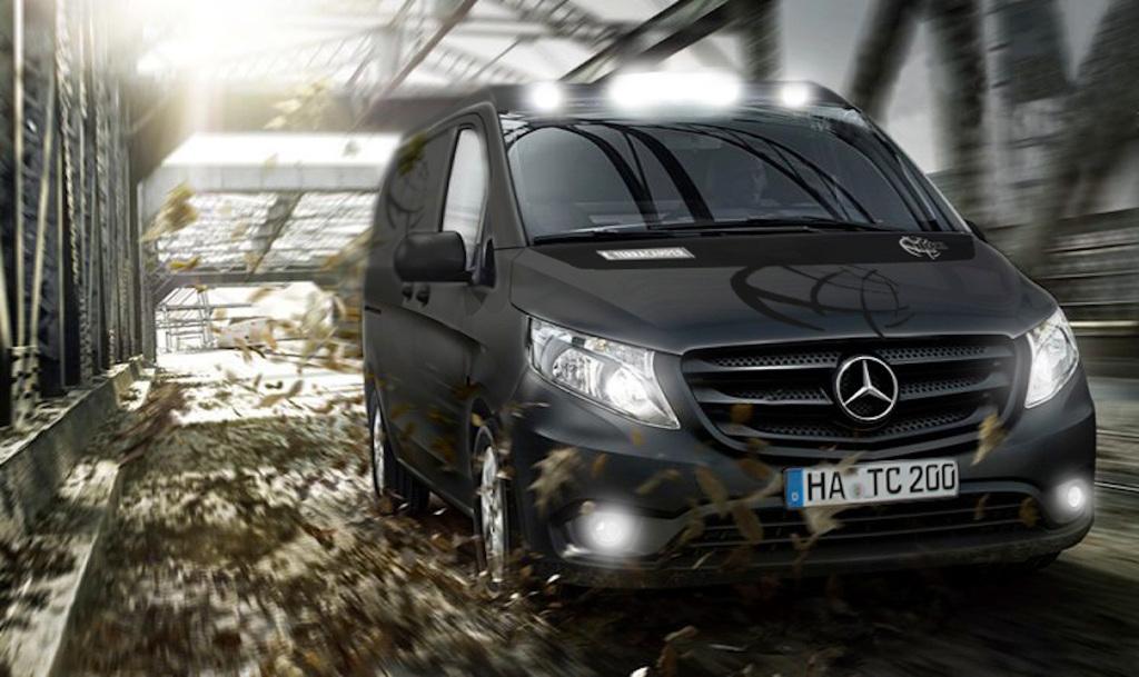 CMT 2015: Terra Camper präsentiert Tecamp auf Mercedes-Benz Vito 4matic. © spothits/Terra Camper