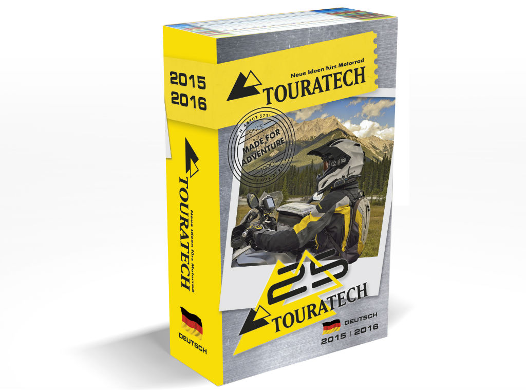 Touratech Jubiläumskatalog 2015/2016. © spothits/Touratech