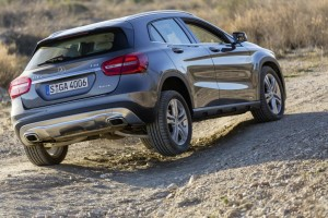 Test Mercedes-Benz GLA 250 Viermatic. © spothits/Daimler