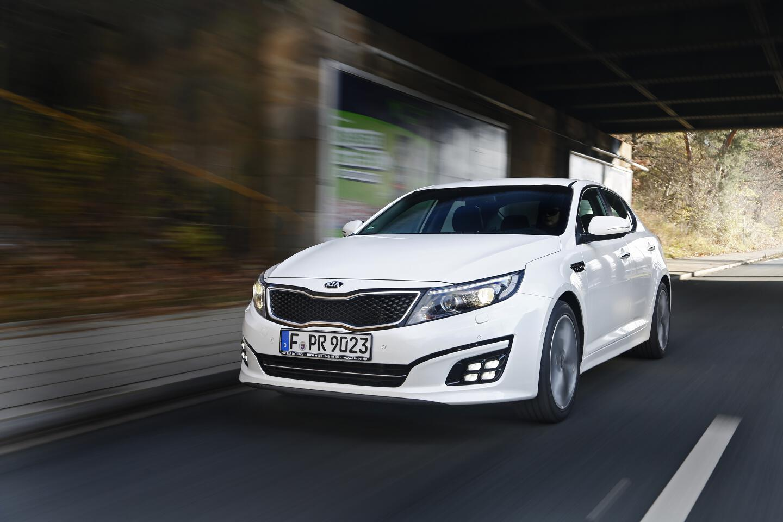 Kia Optima Hybrid. © spothits/Kia Motors Deutschland