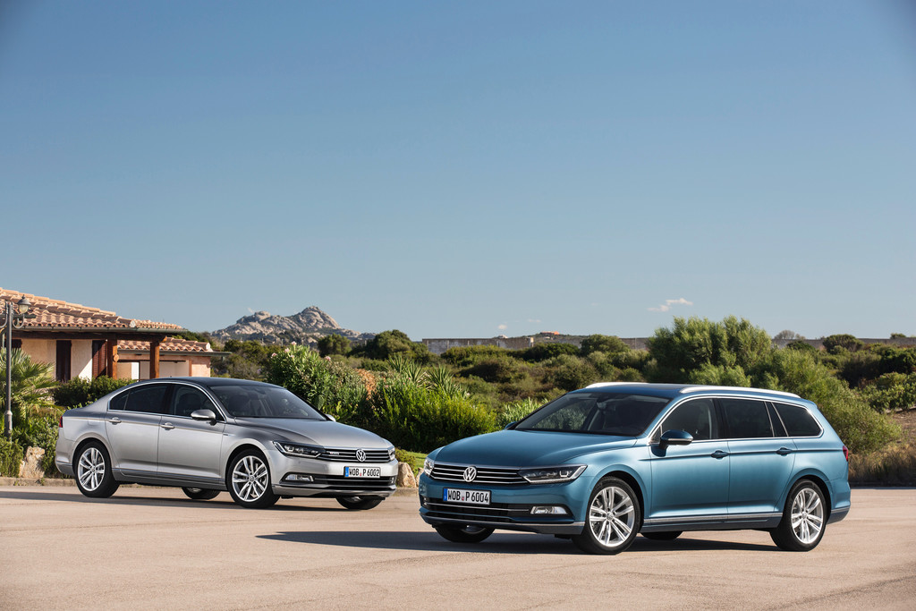 "VW Passat ist Europas ""Auto des Jahres 2015"". © spothits/Auto-Medienportal.Net/Volkswagen"