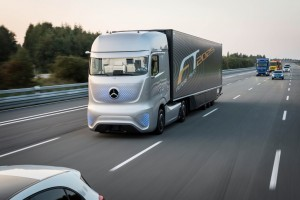 Autonome Nutzfahrzeuge bieten Potenziale. © spothits/Auto-Medienportal.Net/Daimler