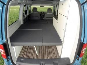 VW Caddy Camp Maxi von Reimo. © spothits/Auto-Medienportal.Net/Reimo